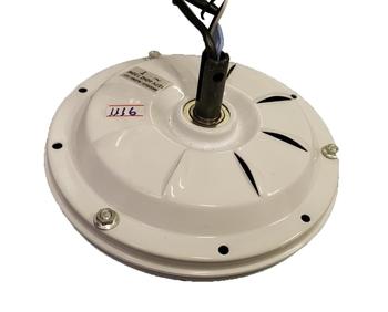 Motor do Ventilador de Teto Aliseu Slim com Adaptador para Placa Led - 3Pás 127v - 07,0 / 06,0uF - M