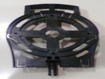 Tampa Dianteira do Ventilador Ventisol 50/60cm Plástica Geração 2 para Rolamento 6201 com Pino com A
