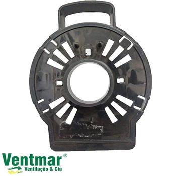 Tampa Dianteira do Ventilador Ventisol Notos Turbo 30/40/50cm Plástica - Anel Frontal/Capa De Montagem Dianteira do Motor com Pino Alça