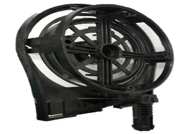 Tampa Dianteira do Ventilador Ventisol 60/70cm Preta MX com Pino - Anel Frontal