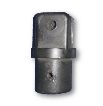 Cachimbo do Ventilador Arge 50/60cm Antigo Preto - Ponteira do Ventilador Ventisilva Antigo