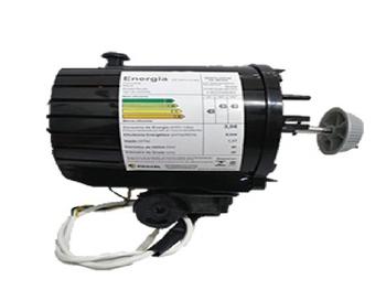 Motor Ventilador Oscilante Mondial 127v Preto 140w 08,5uF - Eixo 8mm - Conjunto Motor Mondial Turbo Force 8Pás