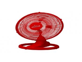 Ventilador de Mesa 50cm Bivolt Venti-Delta Premium - Cor Vermelha - Plástico - 170w - 06uF - VMO50 V