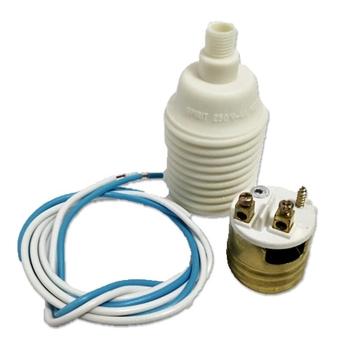 Soquete de Plástico Ventilador Spirit VT201 VTQUANTUM Corpo com Rosca para Regular