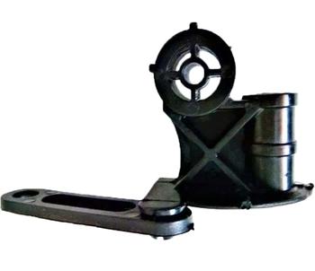 Mecanismo do Oscilante Suporte do Motor do Ventilador Arge 50/60 F-13MM Preto (Liga MotorXCachimbo)