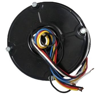 Motor do Exaustor Venti-Delta 40CM Linha Pesada B.R BIV250W06,0UF 1/3CV 80DB 5000M3H 1600RPM