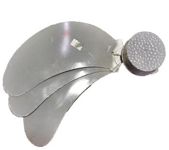 Hélice para Ventilador Solaster 40cm 3Pás - Furo 8MM Kit 4Peças Ferro - Hélice para ventilador Solaster Cancum