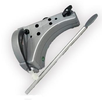 Suporte de Parede para Ventilador Dômina Practice 60cm Cinza com Plug com Vareta de Controle