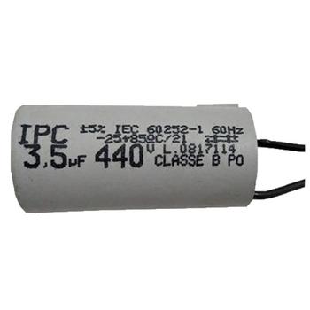 Capacitor para Ventilador Venti-Delta Ventura Bivolt - Capacitor 2Fios 3,5uF/03,5uF 440VAC CAP003,5
