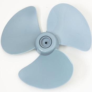 Hélice para Ventilador Mallory 40cm 3Pás Plástica Azul Furo 8mm Diâmetro 38cm - HEL40 HELMALLORY