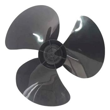 Hélice para Ventilador Britania Ventus Super Turbo Silencium 30cm 3Pás Preta - Encaixe Meia Lua - Eixo 8,0mm - SEM Trava Traseira