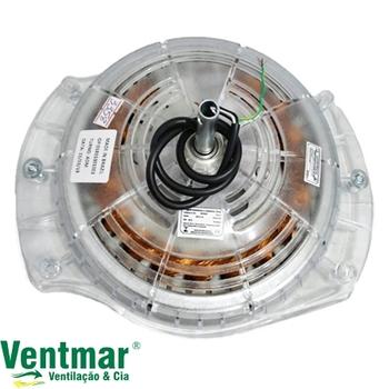 Motor do Ventilador de Teto Spirit 2Pás 127V09,0uF Cristal - Modelo 2Pás 203 Com Rosca p/Luminária - MTSPT