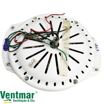 Motor do Ventilador de Teto Spirit ZAYT Branco - Modelo 2Pás ZAYT Recuperado Branco - Modelo 200/201/202 *SALDÃO