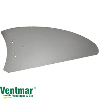 Pá Hélice para Ventilador Volare Ventax - Ventilador venti-Delta Luxo - Pá modelo Facão Reta Iris Ma