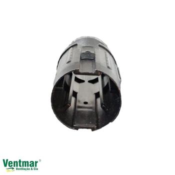 Travante do Ventilador de Coluna Ventisol 40/50cm Preta Luva Plástica Interna Com Rosca Para Regular