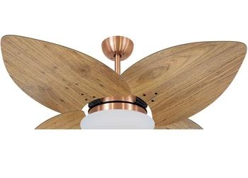 Ventilador de Teto Volare Cobre VD42 Dunamis 127v Chave 3Velocidades - 4Pás Radica Frejo