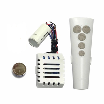 Controle Remoto para Ventilador de Teto Aliseu Terral Plus 127Volts - Kit c/Capacitor 3Fios 14,0uF (4,5+9,5mF) Controle IC55 Plus c/Bluetooth