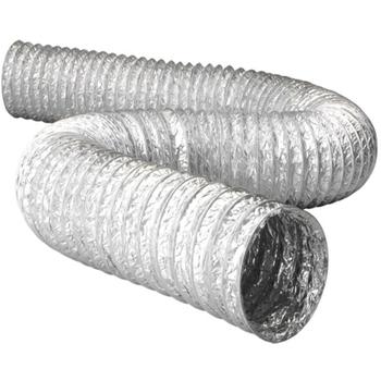 Duto Flexível de Alumínio 10cm para Exaustores - Tubo Flexivel 100mm 04 - Vendido p/Metro