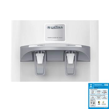 Purificador de Água Latina PA355 220Volts Branco Refrigerado com Compressor 220V - VENTMAR - Maior Eficiencia