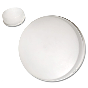 Globo Cúpula Plástica para Ventilador de Teto LOREN SID - Modelo Requinte - (Obs: Pérola / Primor /