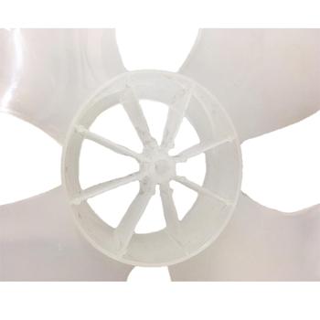 Hélice para Ventilador Arge 50cm Max Atual2020 - 4Pás Ponta Redonda Encaixe em Eixo 10,0mm c/Trava Traseira