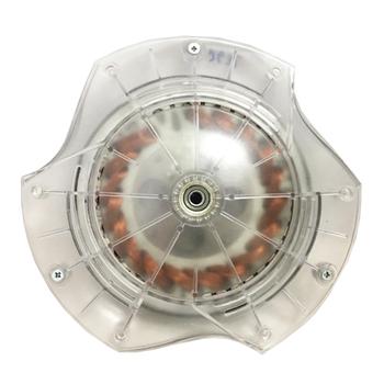 Motor do Ventilador de Teto Spirit 3Pás 127V09,0uF Cristal - Modelo 3Pás 300 301 302 Com Rosca p/Luminária - MTSPT