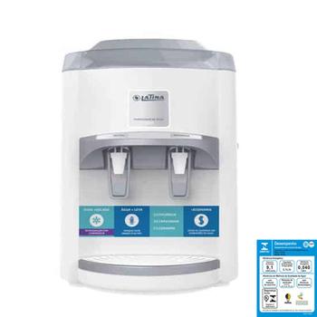 Filtro Purificador de Água Latina PA355 220V Branco Refrigerado com Compressor -Maior Eficiência - Capacidade 4Litros
