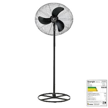 Ventilador de Coluna 65cm Ventisilva VCL Preto com Grade Em Pintura Epóxi Preta Bivolts 150/147W - Chave Controle de Velocdade Rotativa
