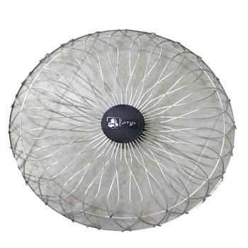 Grade para Ventilador ARGE 60cm Antigo - Metal Cromada Desenhada - Ventilador Coluna ou Parede - Serve p/Dianteira - Vendida p/Unidade