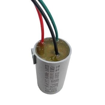Capacitor para Ventilador de Teto Ventisol 3Vel 3Fios 12uF4,0+8,0mF 250VAC