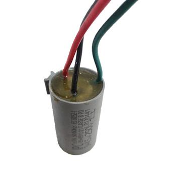 Capacitor de Partida para Ventilador de Teto Aliseu 3Vel 3Fios 07,5uF 250VAc (3,0+4,5mF) - Ventilador Aliseu CAP007,5