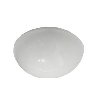 Luminária Completa para Ventilador Aliseu Terral Modelo Atual - Globo de Vidro 213mm p/2Lâmpadas c/Suporte e Soquetes
