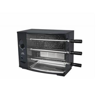 Assador a gás Rotativo 3 Espetos - VITTA PREMIUM - Churrasqueira Rotativa Arke 3 espetos Giratórios - Queimador c/Gás GLP