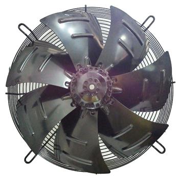 Exaustor Axial 40cm Asafan 7Pás - ASA 4D-400SE 220v/380v 400mm - 1.600rpm - 3900m3h