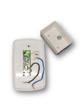 Chave para Ventilador de Parede - Controle de Velocidade Deslizante + Tecla Liga/Desliga - Espelho 4x2