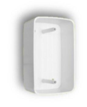 Caixa Plástica de Sobrepor Branca para Instalar Chave de Ventilador Chave de Exaustor - Interruptor/Tomadas em Geral - Padrão para Espelho 4x2