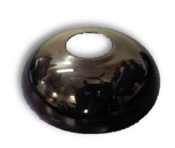 Canopla Plástica Superior Ventilador Latina - Cor Preta
