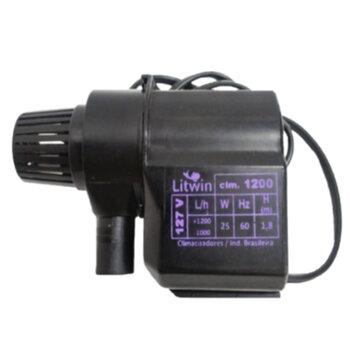 Bomba de Água para Climatizador 110v Vazão 1000 a 1200LH HMAX.1,40M - Climatizadores Climattize - Ebone FOG1 FOG2 FOG3 - Eco Mariz EcoClean - Delta Br
