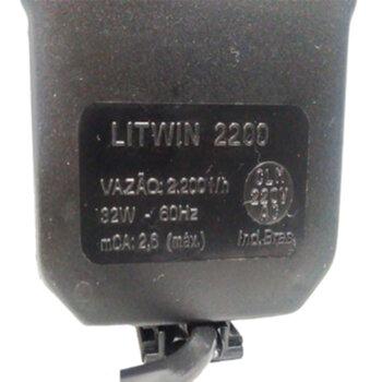 Bomba de Água para Climatizador 220v Vazão 2200LH HMAX. 2,60M Eixo Inox - Climatizadores Climattize - Ebone AG FOG4 - Ebone AG FOG5 - Ventisol - MWM -