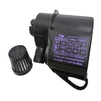 Bomba de Água para Climatizador 110v Vazão 1200 a 1500LH HMAX. 2,60M - Climatizadores Climattize - Ebone FOG1 FOG2 FOG3 - Eco Mariz EcoClean - Delta B