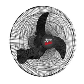 Ventilador de Parede 65cm Venti-Delta Super Delta Bivolts 230w Preto - Chave Controle de Velocidade - Hélice 3Pás