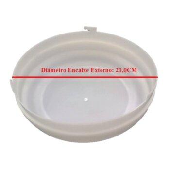 Globo Cúpula Plástica da Luminária Ventilador VENTISOL Fênix - Ventilador Diamond - Ventilador Petit - Apenas o Globo Plástico - Encaixe 210mm