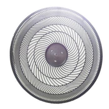 Grade Dianteira do Ventilador Ventisol New Notos Turbo 50cm - Atual Plástica Preta - Sem Emblema/Logamarca