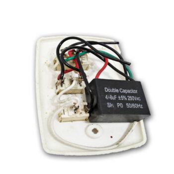 Chave para Ventilador Primavera New 3Velocidades c/Capacitor 09,0uF R1L - 3,0+6,0mF - 110v - SALDÃO